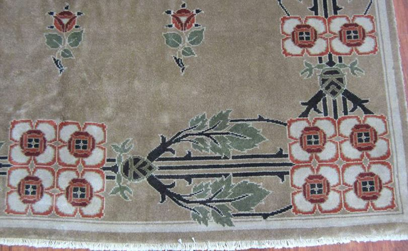 8 by 10 craftsman cottage rug closeup 1
