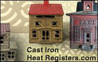 cast iron heat register website